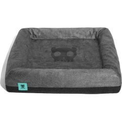 Zee. dog Dog Bed, Size Small - Grey