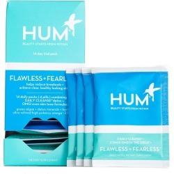 Hum Nutrition Flawless + Fearless Clear Skin And Acne Kit