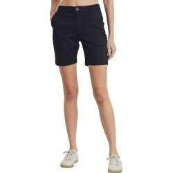 Women's L.t.j Stretch Chino Shorts, Size Medium - Black found on MODAPINS from Nordstrom for USD $60.00