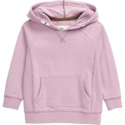Toddler Boy's Mini Boden Everyday Hoodie, Size 2-3Y - Purple