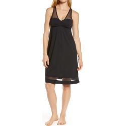 Women's Lusome Erin Nightgown, Size Small - Black found on MODAPINS from Nordstrom for USD $98.00