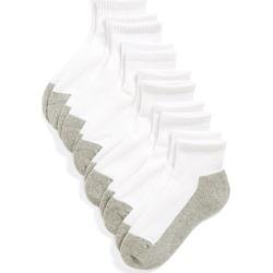 Toddler Boy's Tucker + Tate 6-Pack Active Quarter Socks, Size 7.5-11.5 - White found on Bargain Bro Philippines from Nordstrom for $18.00