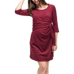 Women's Maternal America Faux Wrap Maternity Dress found on MODAPINS from Nordstrom for USD $71.40