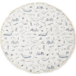 Infant Pehr Life Aquatic Reversible Print Round Play Mat