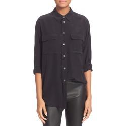 Women's Equipment 'Signature' Silk Shirt