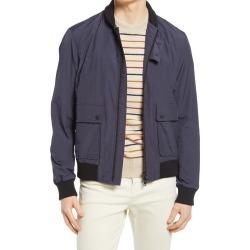 Men's Oliver Spencer Bermondsey Bomber Jacket, Size 40 - Blue found on MODAPINS from Nordstrom for USD $589.00