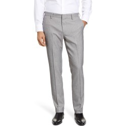 Men's Nordstrom Men's Shop Flat Front Stretch Chino Pants, Size 32 x 32 - Grey found on Bargain Bro Philippines from Nordstrom for $44.75