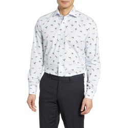 Men's Eton Contemporary Fit Print Dress Shirt found on MODAPINS from Nordstrom for USD $275.00