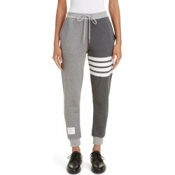 Women's Thom Browne Four-Bar Cotton Joggers found on MODAPINS from Nordstrom for USD $650.00