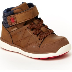 Infant Boy's Stride Rite Saul Made2Play Washable High Top Sneaker, Size 4 W - Brown found on Bargain Bro India from LinkShare USA for $54.95