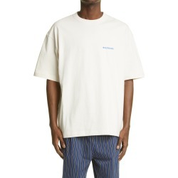 Men's Balenciaga Logo Cotton Graphic Tee, Size Large - Ivory found on MODAPINS from Nordstrom for USD $550.00