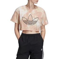 Women's Adidas Originals Trefoil Crop T-Shirt found on Bargain Bro India from LinkShare USA for $35.00