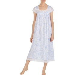 Women's Eileen West Cotton Lawn Nightgown, Size Large - White found on MODAPINS from Nordstrom for USD $78.00