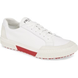 Men's Prada Stratus Low Top Sneaker, Size 8US - White found on MODAPINS from Nordstrom for USD $620.00