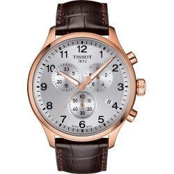 Men's Tissot Chrono Xl Collection Chronograph Leather Strap Watch, 45mm found on Bargain Bro Philippines from Nordstrom for $425.00