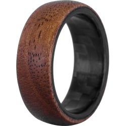 Men's Element Ring Co. Walnut Wood & Carbon Fiber Ring