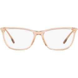 Women's Versace 54mm Cat Eye Optical Glasses - Trans Brown found on MODAPINS from Nordstrom for USD $304.00