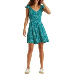 Women's Billabong Forever Yours Minidress, Size Medium - Blue/green found on MODAPINS from Nordstrom for USD $59.95