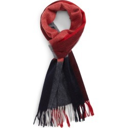 Men's Nordstrom Men's Shop Colorblock Cashmere Scarf, Size One Size - Red found on Bargain Bro Philippines from Nordstrom for $59.70