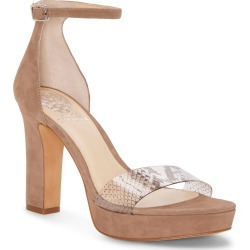 Women's Vince Camuto Sathina Sandal, Size 8 M - Beige found on Bargain Bro Philippines from LinkShare USA for $59.50