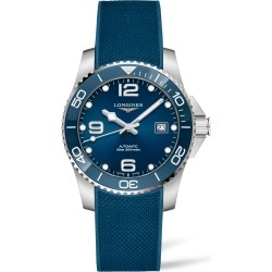 Longines Hydroconquest Automatic Rubber Strap Watch, 41mm found on MODAPINS from Nordstrom for USD $1600.00