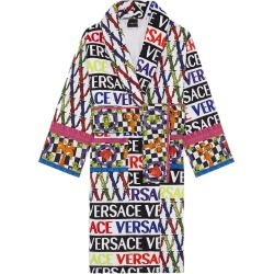 Versace Virtus Logo Cotton Bathrobe, Size XX-Large - None found on MODAPINS from Nordstrom for USD $750.00