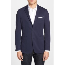 Men's Vince Camuto Slim Fit Stretch Knit Sport Coat, Size X-Small - Blue