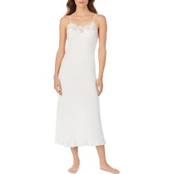 Women's Eileen West Ballet Satin Nightgown, Size Large - White found on MODAPINS from Nordstrom for USD $88.00