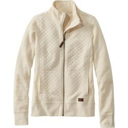 Women's L.l.bean Quilted Sweatshirt Jacket found on MODAPINS from Nordstrom for USD $79.00