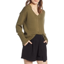 Women's Treasure & Bond V-Neck Sweater found on MODAPINS from Nordstrom for USD $47.40