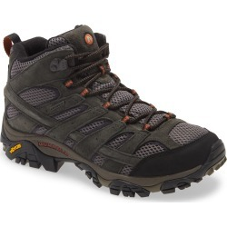 Men's Merrell Moab 2 Mid Waterproof Hiking Shoe, Size 12 M - Grey found on Bargain Bro India from Nordstrom for $135.00