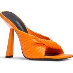 Women's Versace Textured Twist Strap Sandal, Size 7US - Orange found on MODAPINS from Nordstrom for USD $995.00
