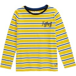 Toddler Girl's Mini Boden Harry Potter Hogwarts House Breton Stripe T-Shirt, Size 2-3Y - Yellow found on Bargain Bro Philippines from Nordstrom for $16.98