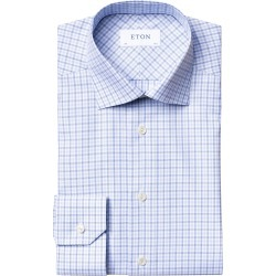 Men's Eton Slim Fit Plaid Dress Shirt found on MODAPINS from Nordstrom for USD $142.50