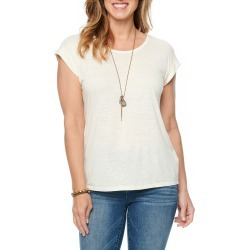 Women's Wit & Wisdom Twist Back T-Shirt, Size Small - Beige (Nordstrom Exclusive) found on Bargain Bro Philippines from Nordstrom for $39.00