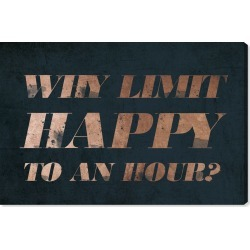 Oliver Gal Happy Hour Canvas Wall Art