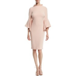 Bell-Sleeve Faille Cocktail Dress found on MODAPINS from neimanmarcus.com for USD $242.00