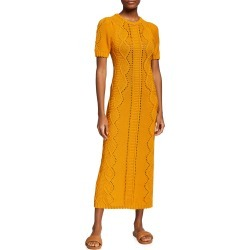 Cable-Knit Column Maxi Dress found on MODAPINS from neimanmarcus.com for USD $850.00