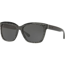 Square Glitter Acetate Sunglasses