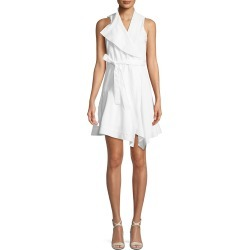 Sleeveless Cotton Wrap Dress found on MODAPINS from neimanmarcus.com for USD $197.00