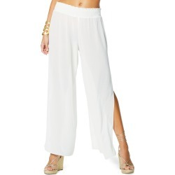 Athena Smocked-Waist Chiffon Pant found on MODAPINS from neimanmarcus.com for USD $135.00