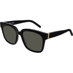 Square YSL Acetate Sunglasses