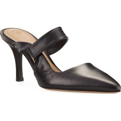 Gala Twist Leather Mule Pumps found on MODAPINS from neimanmarcus.com for USD $413.00
