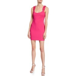 Elana Ruffle Bodycon Dress found on MODAPINS from neimanmarcus.com for USD $87.00