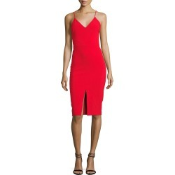 Brooklyn Slit-Front Slip Dress found on MODAPINS from neimanmarcus.com for USD $198.00