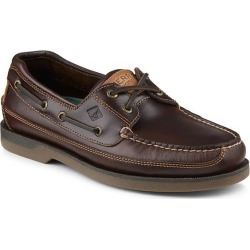 Sperry Men's Mako 2-Eye Mocs, Wide Width Brown Size - 11 found on Bargain Bro India from West Marine for $99.95