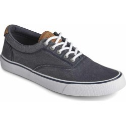 Sperry Men's Striper II CVO Shoes Salt Washed Navy Size - 10.5 found on Bargain Bro India from West Marine for $59.95