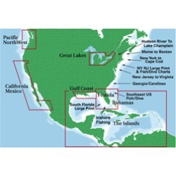 Waterproof Charts #36, Charleston Light to Cape Canaveral   For Marine Navigation