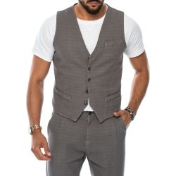 Frank vest in grey found on MODAPINS from NOHOW ITALY for USD $61.62