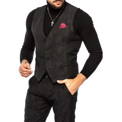 Delft vest in black found on MODAPINS from NOHOW ITALY for USD $113.36
